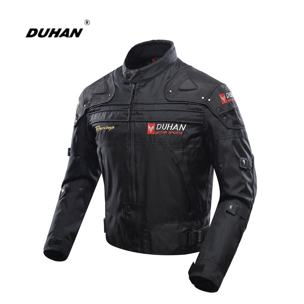 DUHAN Motorcycle Jacket Motorbike Riding Jacket Full Body Protective Gear Armor Windproof Motorcycle Autumn Winter Moto Clothing herobiker armor removable neck protection guards riding skating motorcycle racing protective gear full body armor protectors