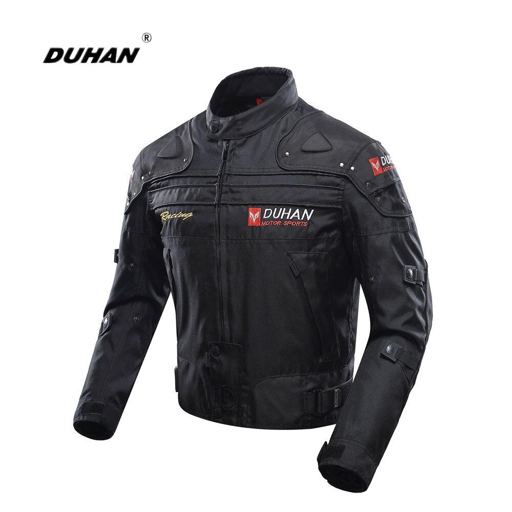 DUHAN veste de Moto Moto veste d'équitation tout le corps équipement de protection armure coupe-vent Moto automne hiver Moto vêtements