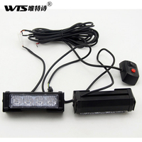 2 4 Led Strobe Light Bar Car Truck Motorcycle Led Flashing Warning Led Caution Driving Lamp