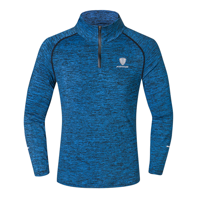 NEW Sport Men Quick Dry T-shirt Long Sleeve 3