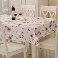 Plastic Tablecloth PVC Tablecloth Table Cloth Table Cloth Of High Temperature Resistant Garden Factory Direct