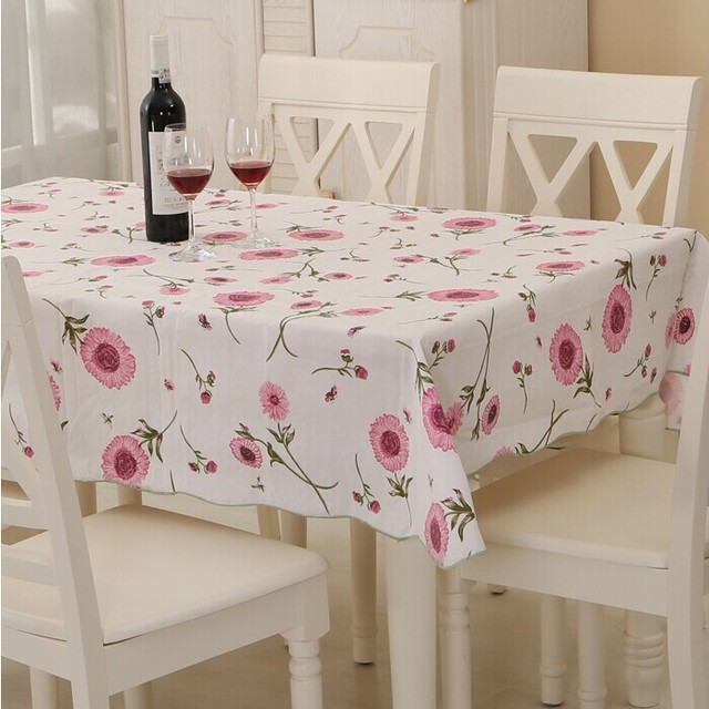 Toalha Mesa Plastic Table Tloth PVC Tablecloth Table Mat Table Cover High  Temperature Resistant Garden Style
