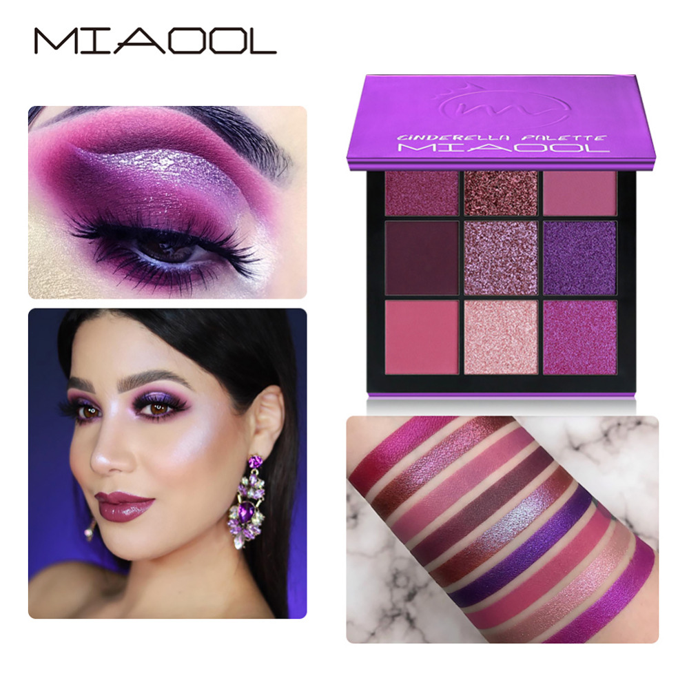 Eye Shadow Beauty Essentials Miaool Obsessions Palette Topaz 9 Colors Shimmer Matte Eyeshadow Palette Beauty Precious Stone Mini Makeup Eye Shadow