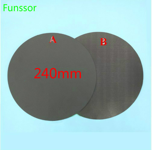 3d Printer Parts & Accessories Computer & Office Methodical 240mm Round Magnetic Adhesive Print Bed Tape Print Sticker Build Plate Tape Flexplate For Diy Kossel/delta 3d Printer Parts