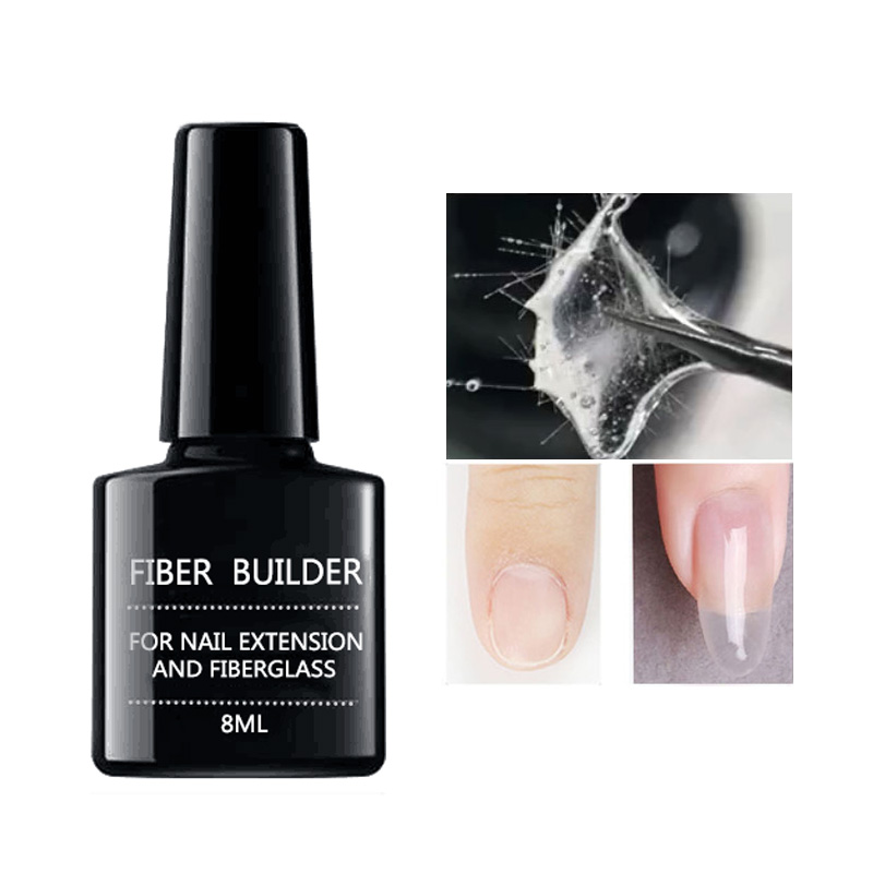 1pc Fiberglass UV Builder Gel Strengthening Nails Repairing Broken Soak Off LED Nail Manicure