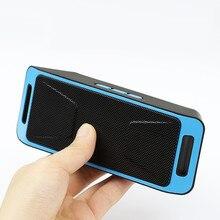 Caliente mini Bluetooth inalámbrico de música de doble woofer altavoz Radio FM TF USB enceinte Altavoz Estéreo bluetooth portátil puissant