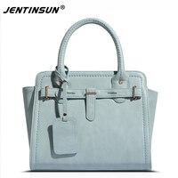 European And American Style Women Handbag PU Leather Pure Colour Luxury Lady Tote Bag Fashion Large