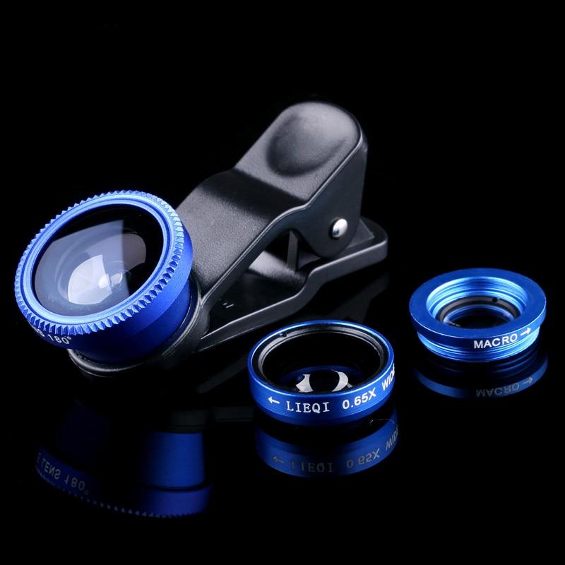 For Sony Xperia M M2 M4 M5 Aqua L C2105 E1 E3 E4 E4g E5 E 1 3 4 5 M Fisheye lenses Fish Eye Macro Wide Angle UniverSal Phone Len ...