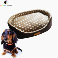 4 Size Super Hot Small Large Pet Dog Bed Soft Warm Fleece Puppy Cat House Kennel