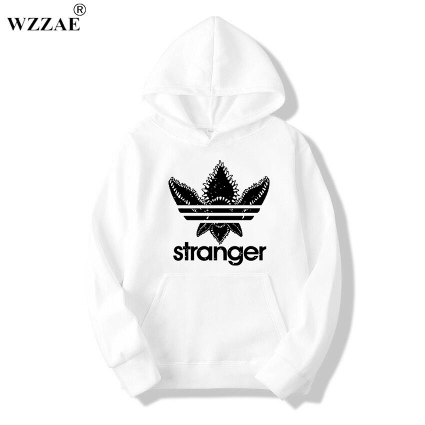 18 Brand New Fashion Stranger Things Cap Clothing Hooded Sweatshirt hoodies Men/Women Hip Hop Hoodies Plus Size Streetwear 18