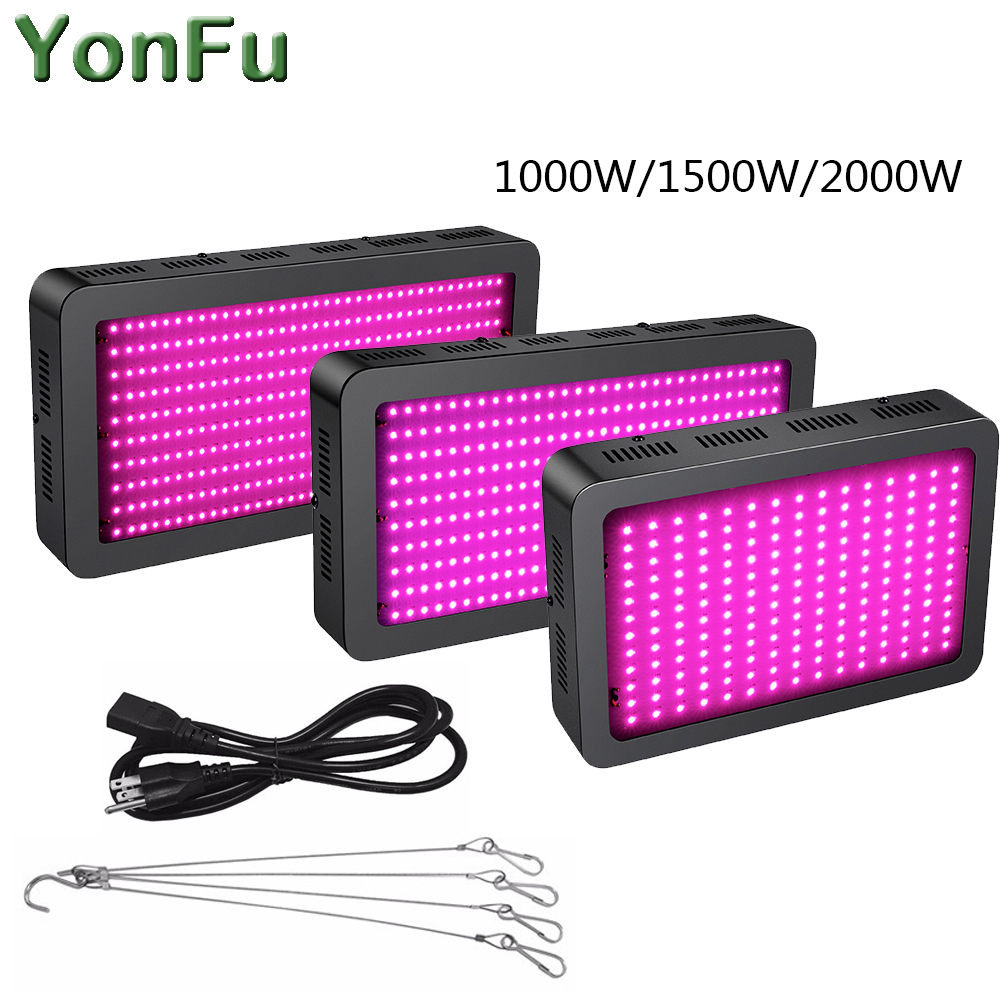 1000W 1500W 2000W Full Spectrum Multispectral 400nm 850nm Led Plant Grow Light for Medical Plant Veg