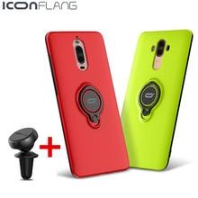 100% Оригинальный чехол для Huawei Коврики 9 чехол Роскошные кольцо держатель стоять Обложка ПК защитной оболочки для Huawei Коврики 9 Pro P10 Honor 8