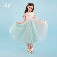 AW Elegant Flower Girl Dresses Kids New Style Summer Dress First Communion Dress Princess Gowns Dancewear