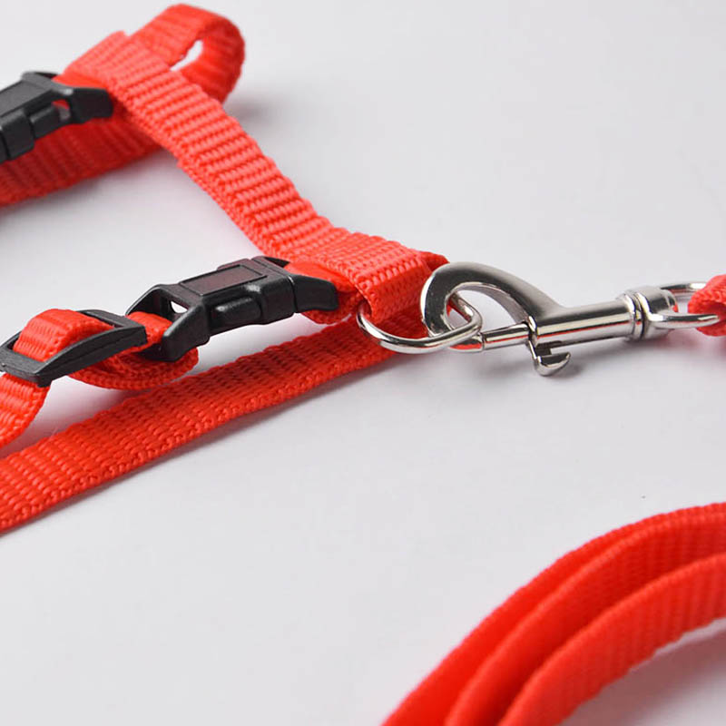 Cat Adjustable Nylon Harness Leash