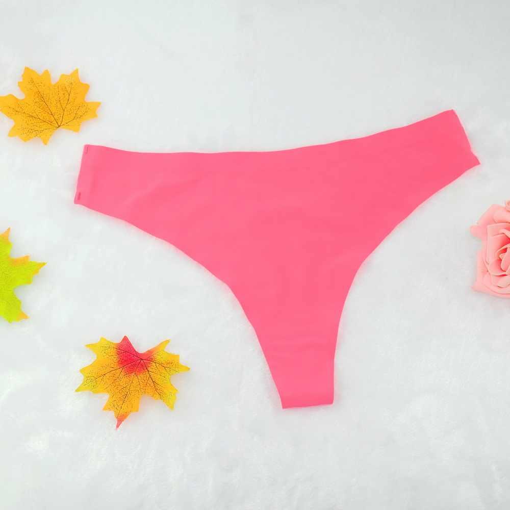 4308dba35e07 High Quality traceless Seamless Sexy Panties Female Tanga Solid Leopard  Rose Underwear Women Calcinha Pink G