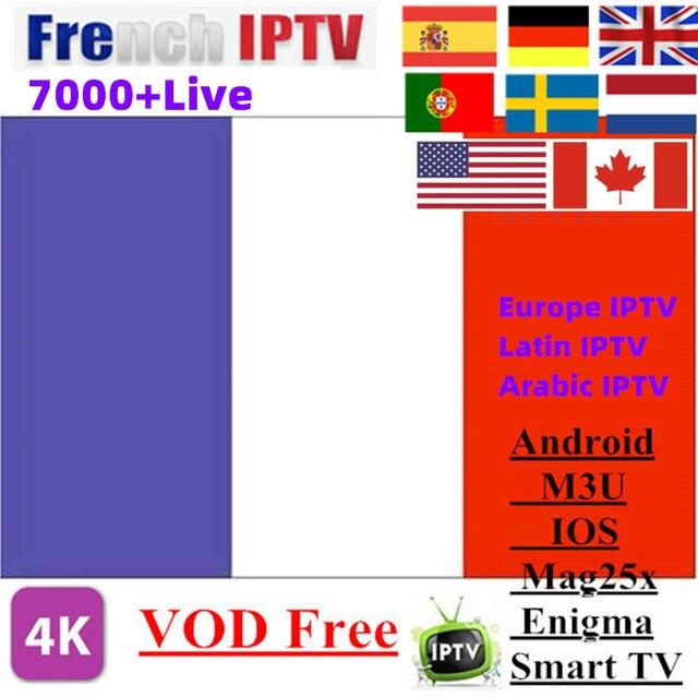 USA Canada Latin SPain Latin America and Europe IPTV Subscription France UK Germa Netherlands Sweden Smart TV IPTV M3U 7000 Live