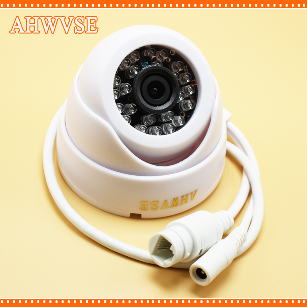 AHWVSE POE IP Camera 1mp 720P Full HD Wired P2P Onvif Night Vision Android CCTV Network IP Kamera Indoor