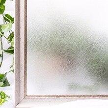 CottonColors Home Bathroom Tint Window Films 30 x 200cm Opaque Decorative Privacy ,No-Glue Static Window Glass Stickers