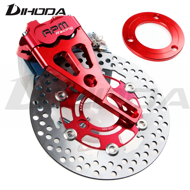 Motorcycle RPM Brake Calipers Adapter/bracket For Rear Flat Fork Brake System For Scooter Motorbike Dirt Bike Modify keoghs motorbike rear brake caliper bracket adapter for 220 260mm brake disc for yamaha scooter dirt bike modify
