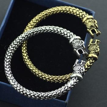 Wolf Vikings Bracelets2
