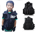New2015 Children tactical vest RPG outdoor games waterproof windproof wear children CS game training training uniform dress vest