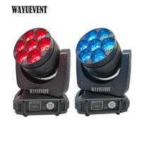 2pcs with fly case/lot high power wash led lyre 7x40w bee eyes moving head led, led beam moving head rgbw colorful light