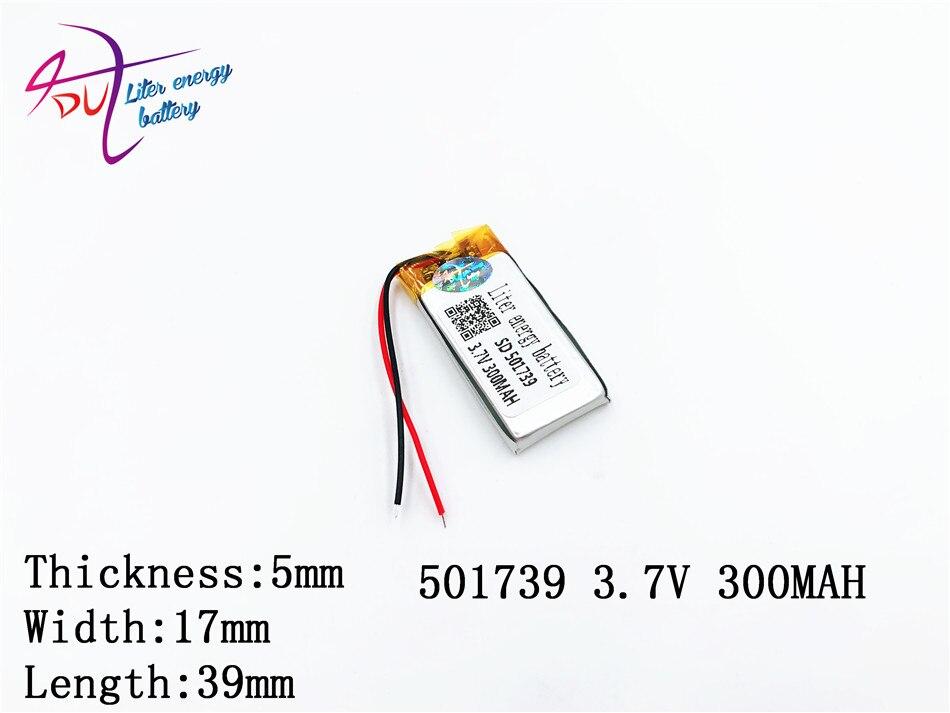 Verantwortlich Liter Energie Batterie Mp3 Mp4 Bluetooth Zelle 3,7 V Lithium-polymer-batterie 501739 501540 300 Mah Mp4 Recorder Gutes Renommee Auf Der Ganzen Welt Unterhaltungselektronik Batterien