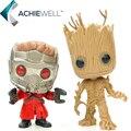 FUNKO POP Star-Lord Groot homem Árvore Guardians Of the Galaxy PVC Figuras de ação Anime PVC Vinil Coleção Modelo Brinquedos Para Presente Do Miúdo