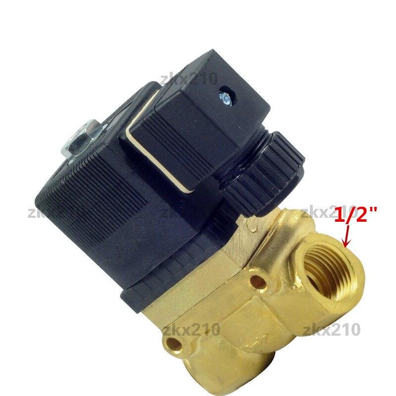 5mpa Sy5404-04 High Pressure High Temperature Solenoid Valve 1/2 Bsp 24v Dc Ac220v Orifice 12mm Nc 5404-04 Pilot Brass Valve