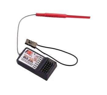 5PCS/LOT FlySky FS FS-R6B 2.4GHz Receiver for FS-T6 2.4G 6 Channel Transmitter RC Radio