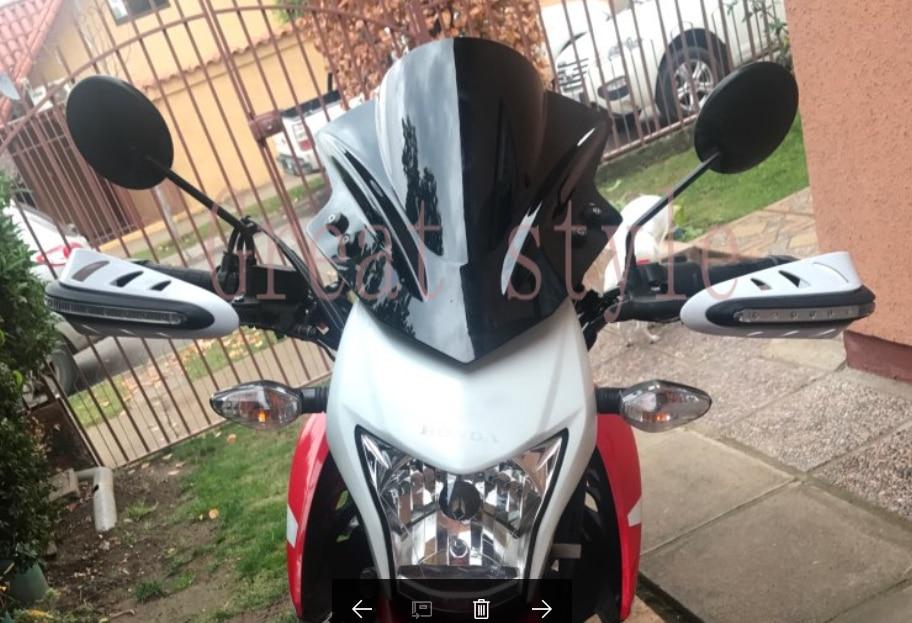 New Moto bike Motorbike Windshield WindScreen For Honda CB1000R CB 1000R CB300F CB500F CB500X