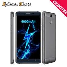 Oukitel k6000 pro android 6.0 mtk6753 octa-core telefon 5,5 zoll 4G LTE 32 GB + 3 GB 16.0MP OTG FM OTA Metallrahmen 6000 mAh Smartphone