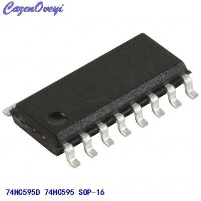 100Pcs 74HC595 74595 SN74HC595N 8-Bit Shift Register DIP-16 US Stock l
