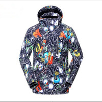Mens Ski Jackets Ski Jacket Men Snowboard Winter Mountain Skiing Clothes Winter Coat Snow Waterproof Camping Outdoor Brand