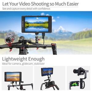 """Image 2 - Feelworld fw450 4.5 """"ips 4 k hdmi câmera monitor de campo 1280x800 hd portátil lcd monitor para dslr com pico campo verificação foco"""