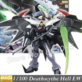Momoko Gundam W Model MG Wing Deathscythe Hell EW XXXG-01D2 Endless Waltzl 1/100 Scale Action Figures Robots kids assembled toys