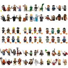 Legoings marvel  Series Pingo Blocks 1000 Star Wars Super Heroes Dragon Ball Potter Hobbit Saint Seiya random Blind box