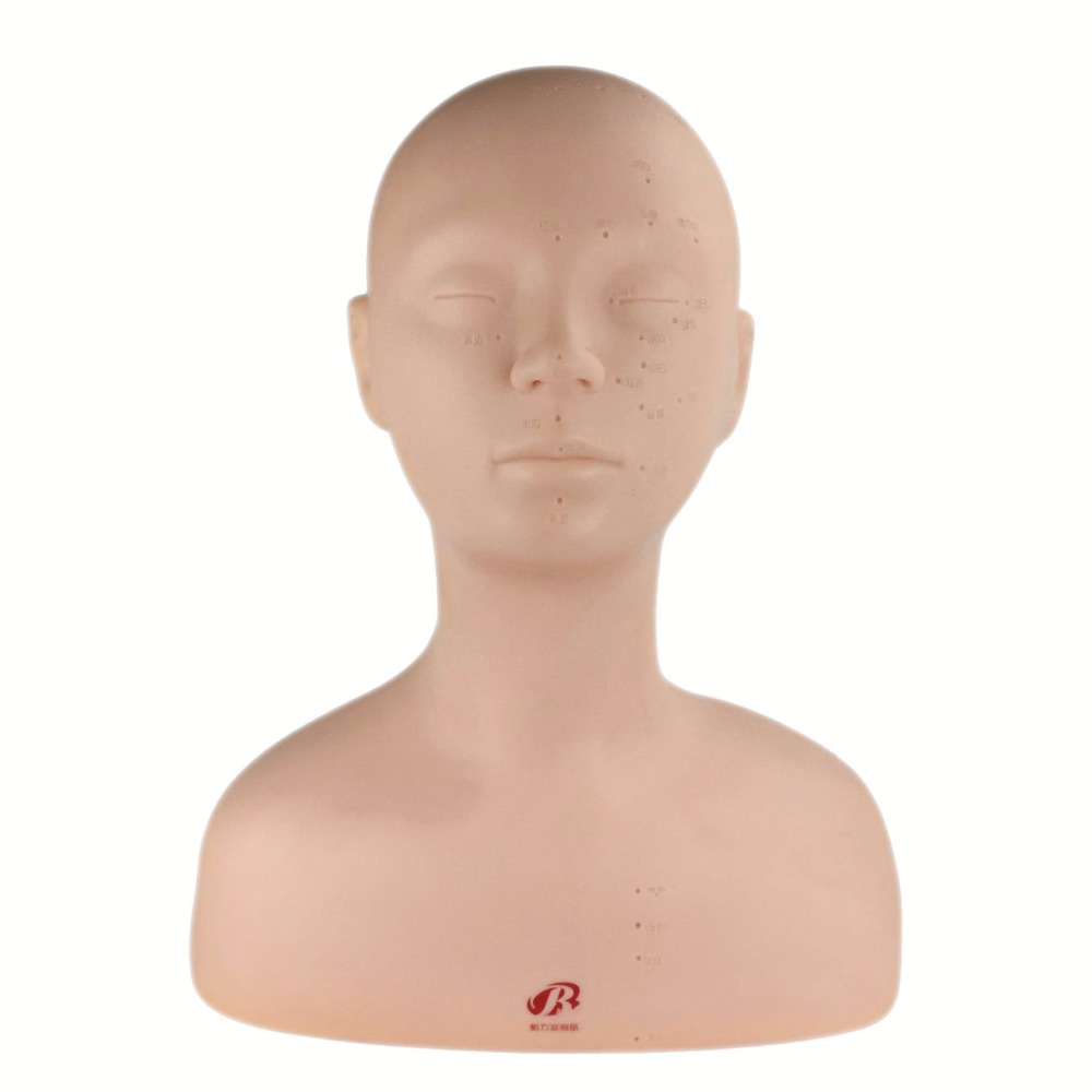 New Arrival!!High Quality Female Cosmetology Massage Mannequin Training Heads Makeup Mannequin Head Practice Manikin Head Bust