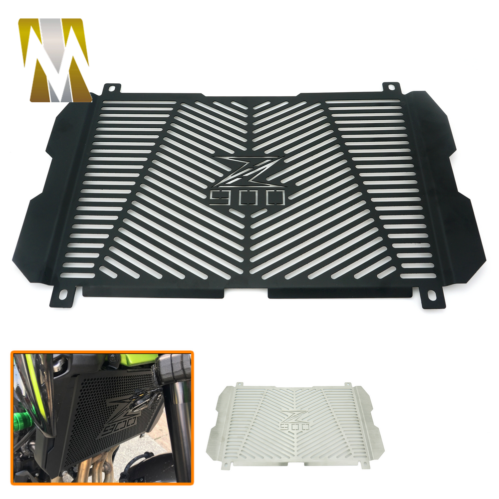New Arrival Stainless Steel Motorcycle Radiator Grille Guard Radiator Grille Cover Protector For Kawasaki Z900 2017 new motorcycle stainless steel radiator grille guard protection for yamaha tmax530 2012 2016