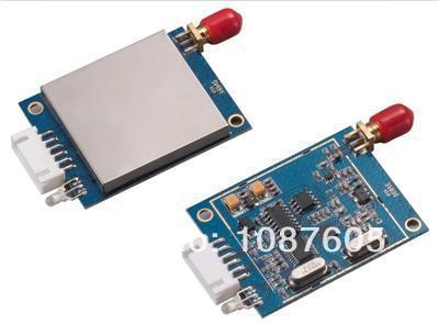 SV651-915 MHz 500 mW 3000 m RS485 módulo de transceptor Si4432 inalámbrica anti-interferencias