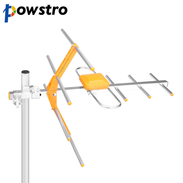 POWSTRO Outdoor Antenna Reception Range 470MHz 860MHz High Gain HDTV Antenna Digital Amplified Outdoor Attic Roof  sc 1 st  AliExpress.com & POWSTRO Outdoor Antenna Reception Range 470MHz 860MHz High Gain HDTV ...