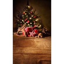 5X8ft Free shipping Thin vinyl Photography Studio Senior Vinyl Background Digital print Christmas tree Backdrops ST-376