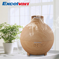 Excelvan 20006A Light Woodgrain 500ml Ultrasonic Humidifier Essential Oil Diffuser Humidifier Aromatherapy  Air Purifier