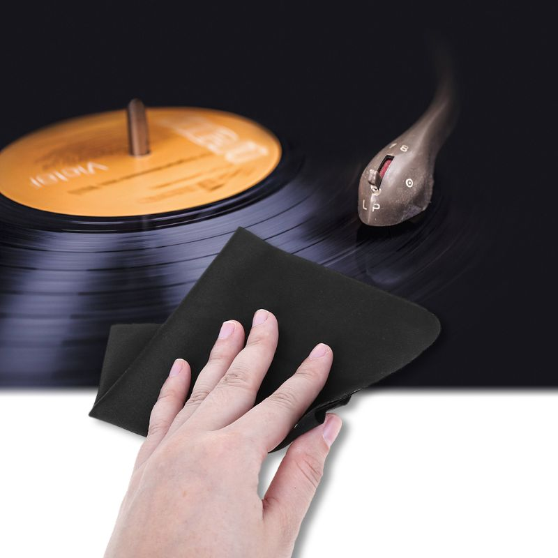 Enthusiastic 5pcs/bag Anti-static Cloth Microfiber Towel Record Cleaning Tool Lint Free Cleaner Lp Vinyl Turntable Pad Cd Player Supplement The Vital Energy And Nourish Yin Back To Search Resultsconsumer Electronics Portable Audio & Video