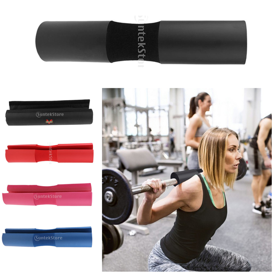 Barbell Bar Cover Pad Gym Weight Lifting Squat Shoulder Protector Foam Cushion