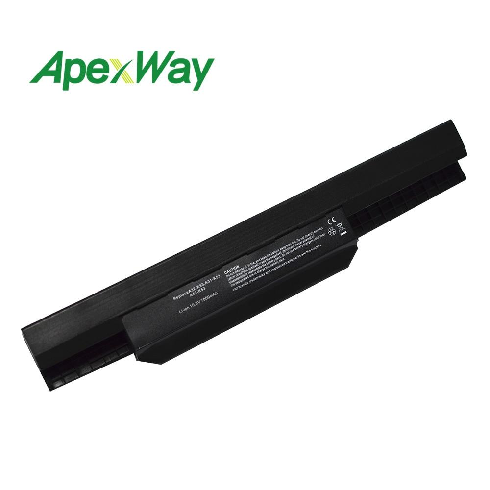 11.1 v Batterie D'ordinateur Portable Pour Asus A32-K53 A41-K53 K53SV A43B a32 k53 A43JF A43U A43JC X54H X84 X84S X53U k53t k53S K53s X43 X44 X53S