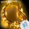 Goodland LED Luz de la Secuencia 10 m Luces de Alambre de Cobre con Adaptador de Corriente de 12 V Luces de Navidad Año Nuevo Decoración de La Boda