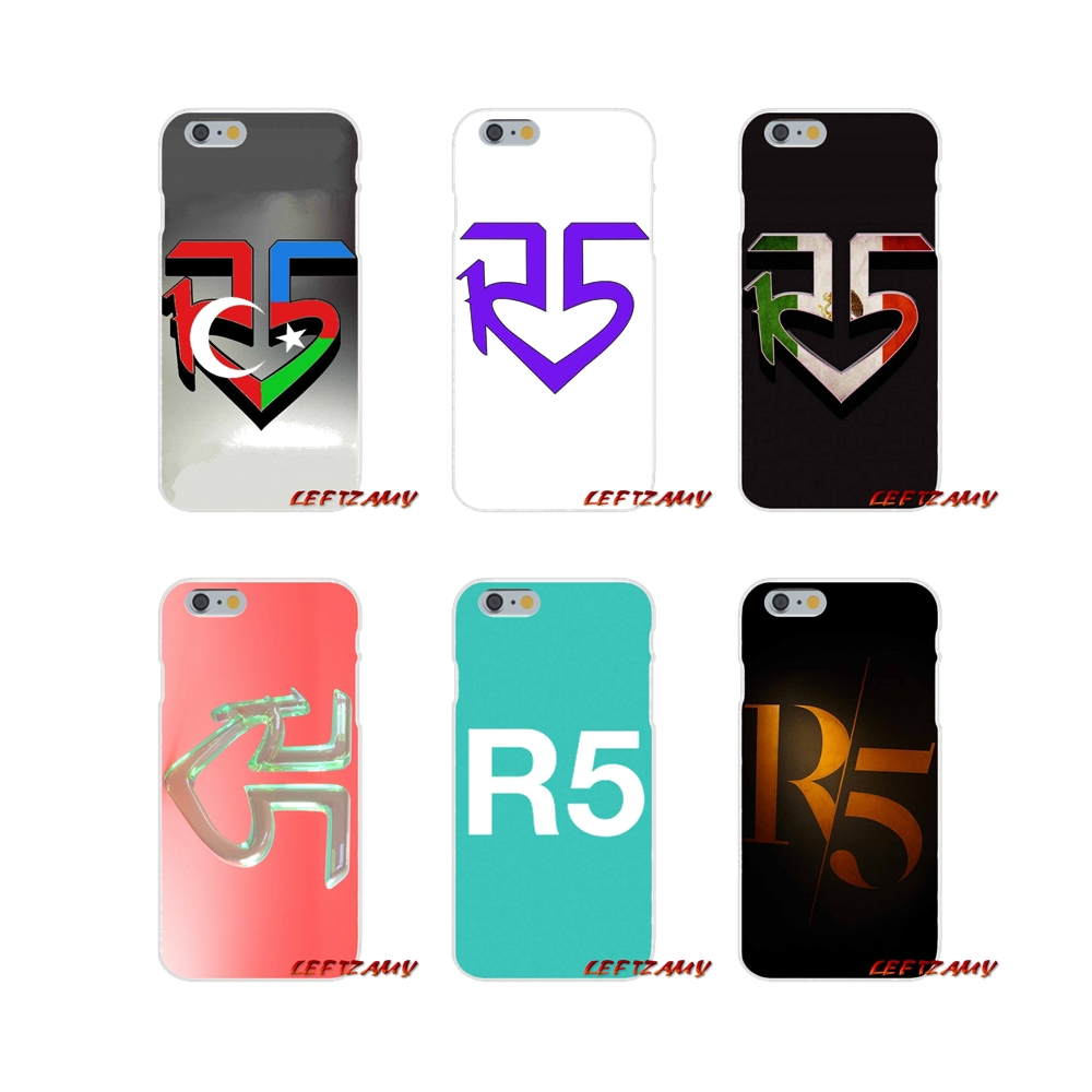 Ross Lynch R5 Pop rock Band Logo Slim Silicone phone Case For Samsung Galaxy S3 S4 S5 MINI S6 S7 edge S8 S9 Plus Note 2 3 4 5 8