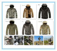Free Shipping Hot Sale V 4.0 Men's Camo Outdoor Hunting Camping Waterproof Coats Jacket Hoodie Soft Shell Jacket