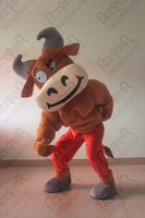 hot sale funny cartoon cattle mascot costumes new kids party bull costumes